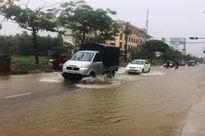 Ảnh hưởng cơn bão số 4: Thừa Thiên - Huế đã có mưa vừa đến rất to