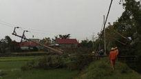 Khắc phục sự cố điện sau bão số 4