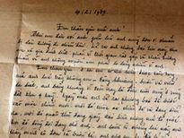 Dấu ấn lịch sử qua những lá thư thời chiến