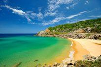"""'Ghé thăm' bãi biển """"hot"""" bậc nhất Nam Trung Bộ"""