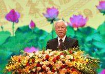 Tổng Bí thư Nguyễn Phú Trọng: 'Sự hy sinh của các anh hùng liệt sĩ đã tô thắm lá cờ cách mạng vẻ vang'