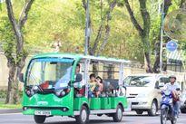 Thú vị xe buýt điện trung tâm TP. Hồ Chí Minh