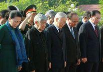 Lãnh đạo Đảng, Nhà nước viếng các anh hùng liệt sĩ