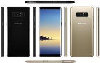 Lộ toàn bộ ảnh chính thức của Galaxy Note 8