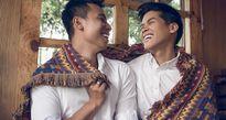 John Huy Trần cùng người yêu đồng tính dọn về nhà mới