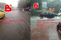 Ám ảnh cảnh tượng ngập lụt ở Hà Nội sau mỗi trận mưa lớn