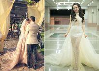Vừa sinh con gái thứ 2, Vy Oanh tổ chức đám cưới với chồng đại gia