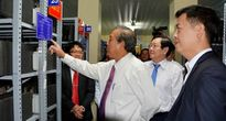 Phó Thủ tướng Trương Hòa Bình làm việc tại Trung tâm lưu trữ Quốc gia IV