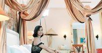 Lã Thanh Huyền khoe kỳ nghỉ siêu sang trong căn phòng tổng thống