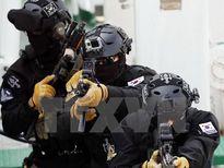 Giữa căng thẳng, lính thủy đánh bộ Hàn Quốc tập trận gần biên giới