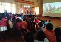 Gia Lai: Chiếu phim miễn phí cho thiếu nhi vùng khó