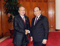 Thủ tướng Chính phủ, Chủ tịch Quốc hội tiếp Phó Chủ tịch thứ nhất Thượng viện Cam-pu-chia