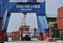 7 tháng, gần 2 triệu tấn hàng thông qua cảng Cửa Lò