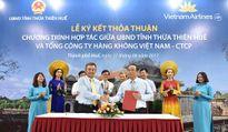 UBND tỉnh Thừa Thiên – Huế hợp tác với Tổng công ty Hàng không Việt Nam