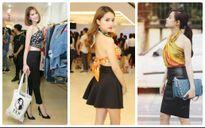 Mỹ nhân Việt khoe thân hình 'bỏng mắt' khi biến tấu khăn thành áo