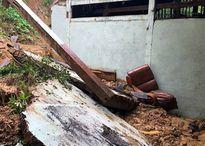 Sạt lở đất, bé gái 5 tuổi chết thảm