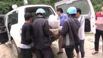Sa Pa: Huy động 200 người tìm kiếm nạn nhân bị lũ cuốn