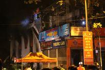 Hiện trường vụ cháy cửa hàng điện nước bậc nhất thị xã Quảng Trị