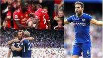 BXH Premier League 2017/2018 sau vòng 1: MU cười, Chelsea mếu