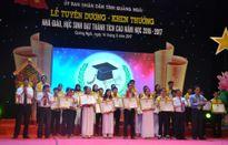 Quảng Ngãi: Vinh danh – khen thưởng nhà giáo, học sinh đạt thành tích cao