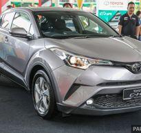 Toyota CH-R trình làng, thách thức đối thủ Mazda CX-3