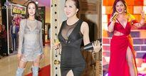 Thời trang sao Việt xấu tuần qua: Gợi cảm quá đà, Minh Tuyết để lộ thân hình đầy lỗi