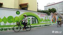 Ngỡ ngàng trước vẻ đẹp của đường làng bích họa đầu tiên ở Hà Nội