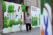 'Con đường bích họa' ấn tượng tại Hà Nội