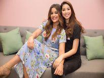Hoa hậu Phạm Hương đọ sắc cùng hoa hậu Mỹ Latin