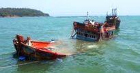 Đắm tàu cá ở Quảng Ninh, 6 ngư dân thoát nạn