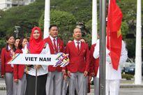 Xúc động giây phút thượng cờ Tổ quốc tại SEA Games 29