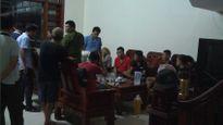 Hưng Yên: Đột kích 'lô cốt' cờ bạc, 3 chiến sĩ công an bị thương