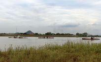 Xử lý cát tặc trên sông Lam như 'đá ném ao bèo'