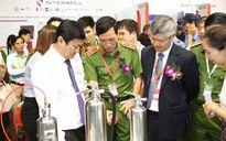 Việt Nam giới thiệu nhiều thiết bị chữa cháy sản xuất trong nước