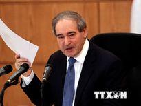 Phái đoàn Tổ chức Cấm Vũ khí hóa học sẽ tới Syria trong vài ngày tới