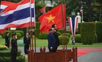 Lễ đón Thủ tướng Nguyễn Xuân Phúc tại Thái Lan