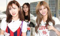 Twice rạng rỡ lên đường đến Đà Nẵng, Da Hyun vắng mặt