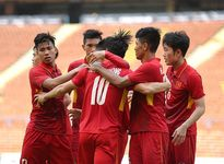 Công Phượng lập cú đúp, U22 Việt Nam thắng cách biệt 4-1 U22 Campuchia