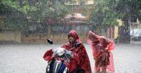 Thời tiết Bắc Bộ: Hà Nội mưa sầm sập, cảnh báo ngập lụt
