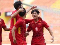 Công Phượng, Tuấn Tài lên tiếng, U22 Việt Nam thắng đậm Campuchia