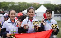 Đội tuyển bắn cung đồng đội nữ Việt Nam đoạt HCB SEA Games 29