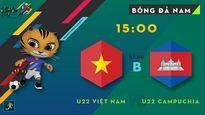 Video trực tiếp bóng đá SEA Games 29: U22 Việt Nam vs U22 Campuchia