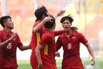 U22 Việt Nam 4-1 Campuchia: Công Phượng lập cú đúp