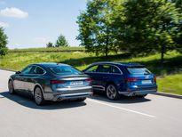 Audi mở bán bộ đôi A4 Avant và A5 Sportback G-Tron hoàn toàn mới