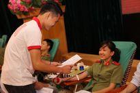 Ngày hội hiến máu Học viện An ninh nhân dân