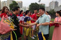 20 đội tham gia Giải bóng đá quận Thanh Xuân