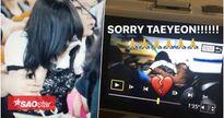 Gặp tình huống nguy hiểm ở sân bay Indonesia, Taeyeon (SNSD) té ngã xuống sàn và không ngừng rơi nước mắt