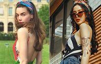 Sao Việt trẻ trung với mốt băng đô turban