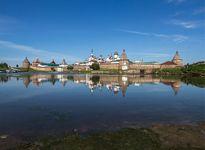 Cảnh thanh bình của quần đảo Solovetsky ở Biển Trắng, miền Bắc Nga