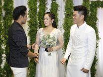 Sau tin đồn cầu hôn 'ngọc nữ Bolero', Quý Bình bất ngờ nói lời này trong đám cưới Lê Phương